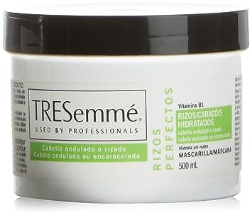 diseño distintivo estilo clásico garantía limitada Tresemmé Rizos Perfectos - Mascarilla de cabello, 500 ml