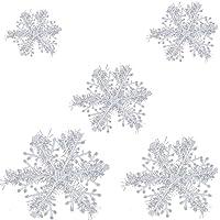 Simuer - 45 copos de nieve navideños