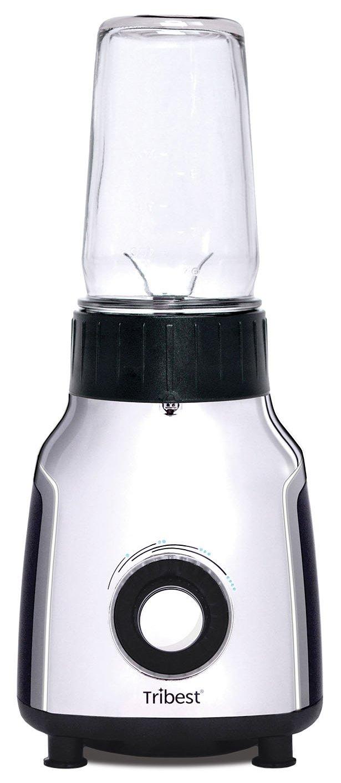 Tribest PBG-5050-A Glass Personal Blender, Chrome