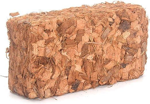 Ycncixwd 500 g de Coco, Coco, ladrillo de turba, Bio Soilless, Tierra para Flores, jardín, Plantas Naturales, Suelo, Cama nutritiva: Amazon.es: Jardín