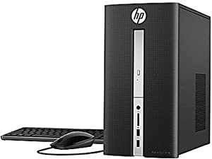 HP Pavilion High Performance Premium Desktop | 7th Gen Intel Core i3-7100 3.9GHz | 16GB DDR4 RAM | 128GB SSD Boot + 1TB HDD | DVD-RW | Card Reader | Included Keyboard & Mouse | Windows 10