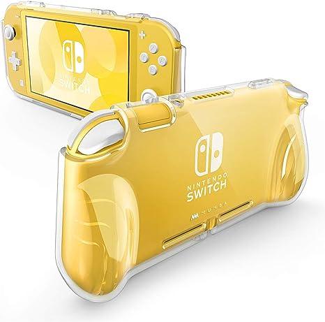 Mumba - Carcasa para Nintendo Switch Lite 2019, diseño de serie Thunderbolt con agarre de TPU: Amazon.es: Videojuegos