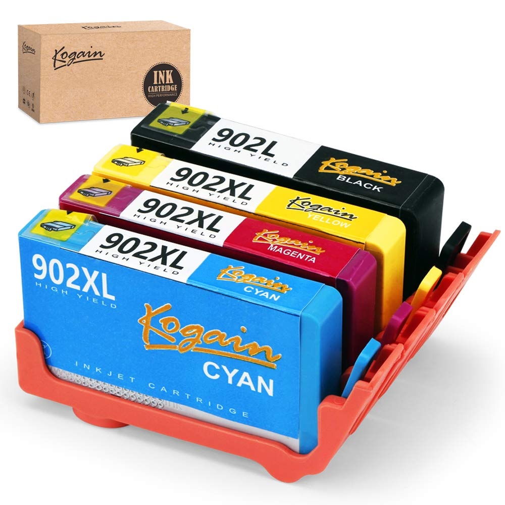 Kogain Updated Remanufactured HP 902 902XL Ink Cartridges, Compatible with HP OfficeJet Pro 6968 6978 6958 6962 6960 6970 6979 6950 6954 6975 Printer