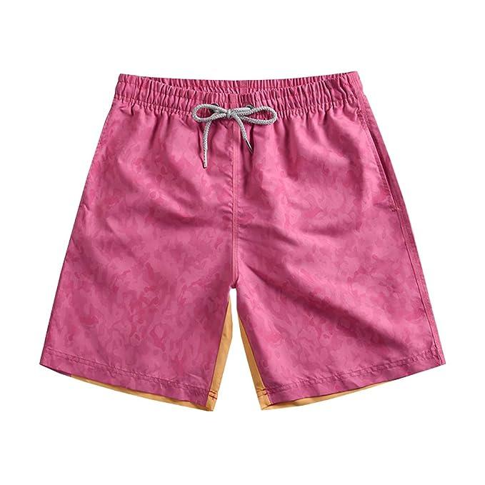 Cortos Pantalones Playa De Bañadores Sxshun Con Para Hombres Dibujos PikuOXZT