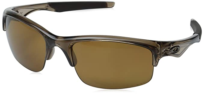 300313b40f Oakley OO9164-02 05 Brown Smoke Bottle Rocket Wrap Sunglasses Polarised  Cycling