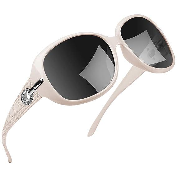 Joopin Gafas de Sol Mujer Moda Polarizadas Protección UV400 de Gran Tamaño Gafas de Sol Señoras U9045