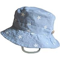 Leisial Sombrero Pescador para Bebé Niños Algodón de Protectora del Sol  Gorro de Alas Anchas Proteger 86dcf112b76