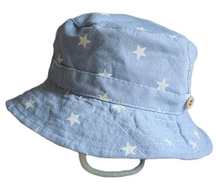... Sombrero Pescador para Bebé Niños Algodón de Protectora del Sol Gorro  de Alas Anchas Proteger Sombrero de Vaquero Venaro  Amazon.es  Ropa y  accesorios 09221a0817a