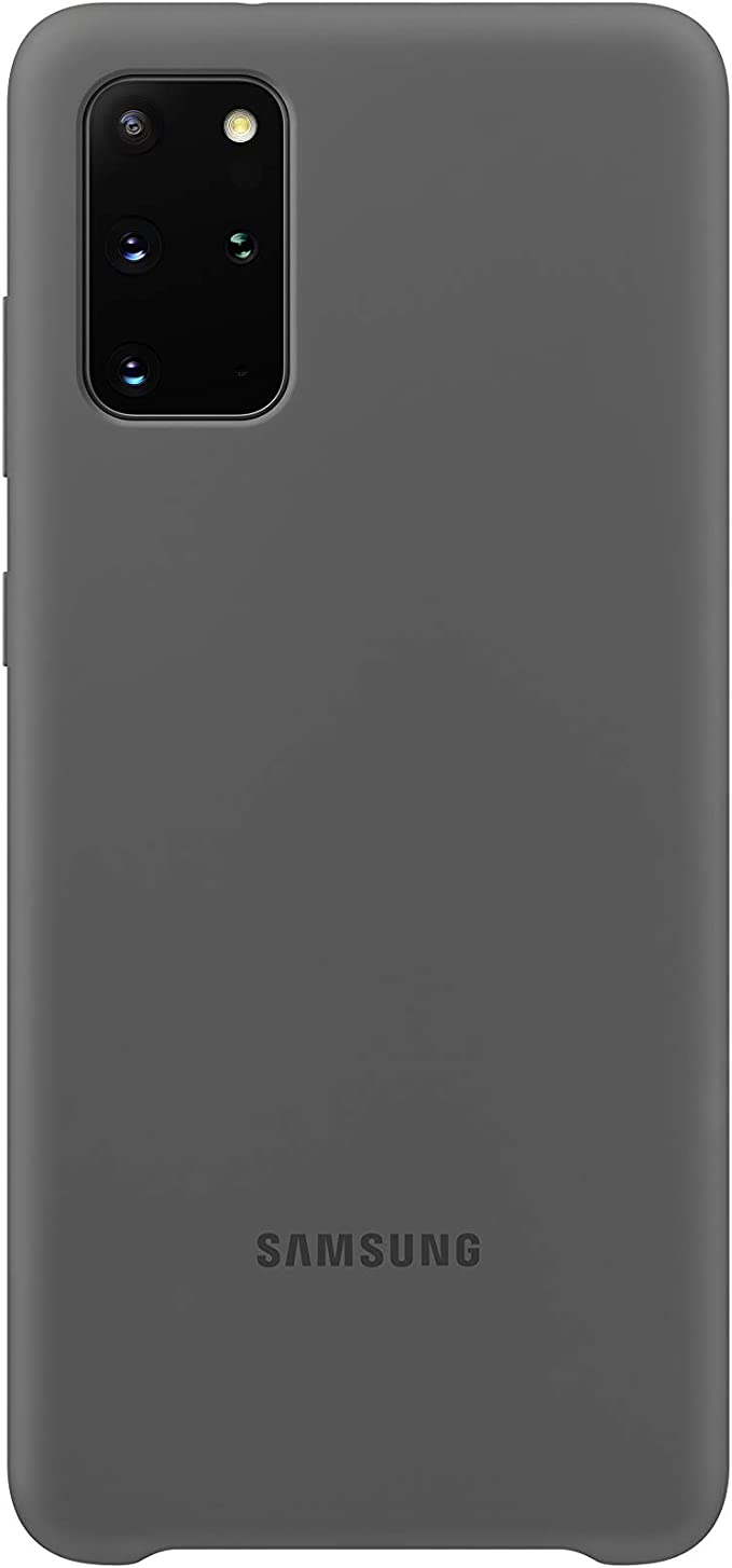 Samsung Ef Pg985 Silicone Phone Cover For Galaxy S20 S20 5g Gray Elektronik