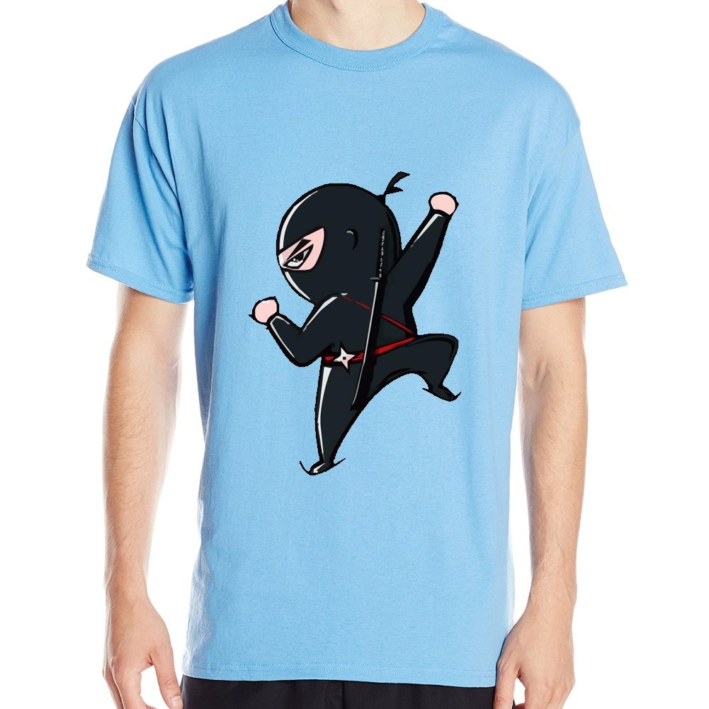 Hongcai Trade 3D T-Shirt - Male Ninja Climbing Blue Print ...