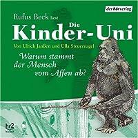 Die Kinder-Uni SA: Warum stammt der Mensch vom Affen ab? Lesung