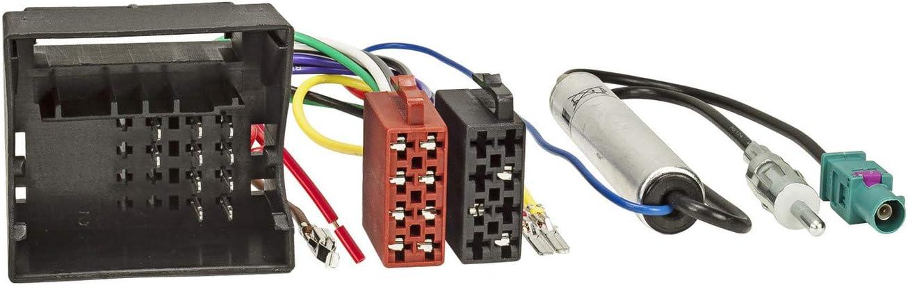 Sound-way Cable Adaptador Conector ISO Radio de Coche ...