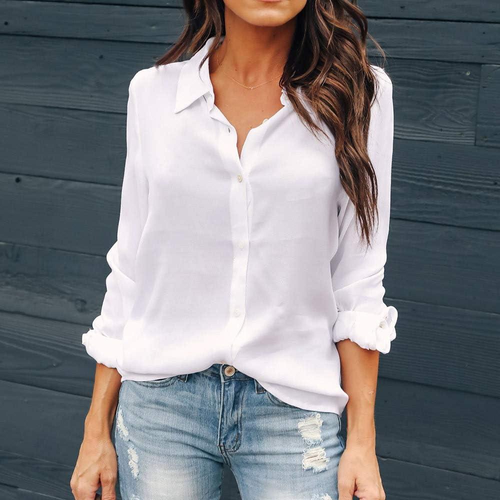 para Mujer Elegantes Blusas Mujer Tallas Grandes Blusas para Mujer Blusas para Mujer Verano Blusas de Manga Completa Blusa Blusas para Mujer Invierno Camisetas: Amazon.es: Ropa y accesorios
