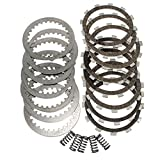 Complete Clutch Kit Friction Steel Plates Springs for Yamaha IT 250 465 H J 1981 1982
