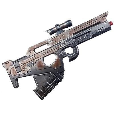 Mida Multi-Tool Scout Rifle High Density Foam Gun 1:1 Scale Prop Replica (Grey): Clothing