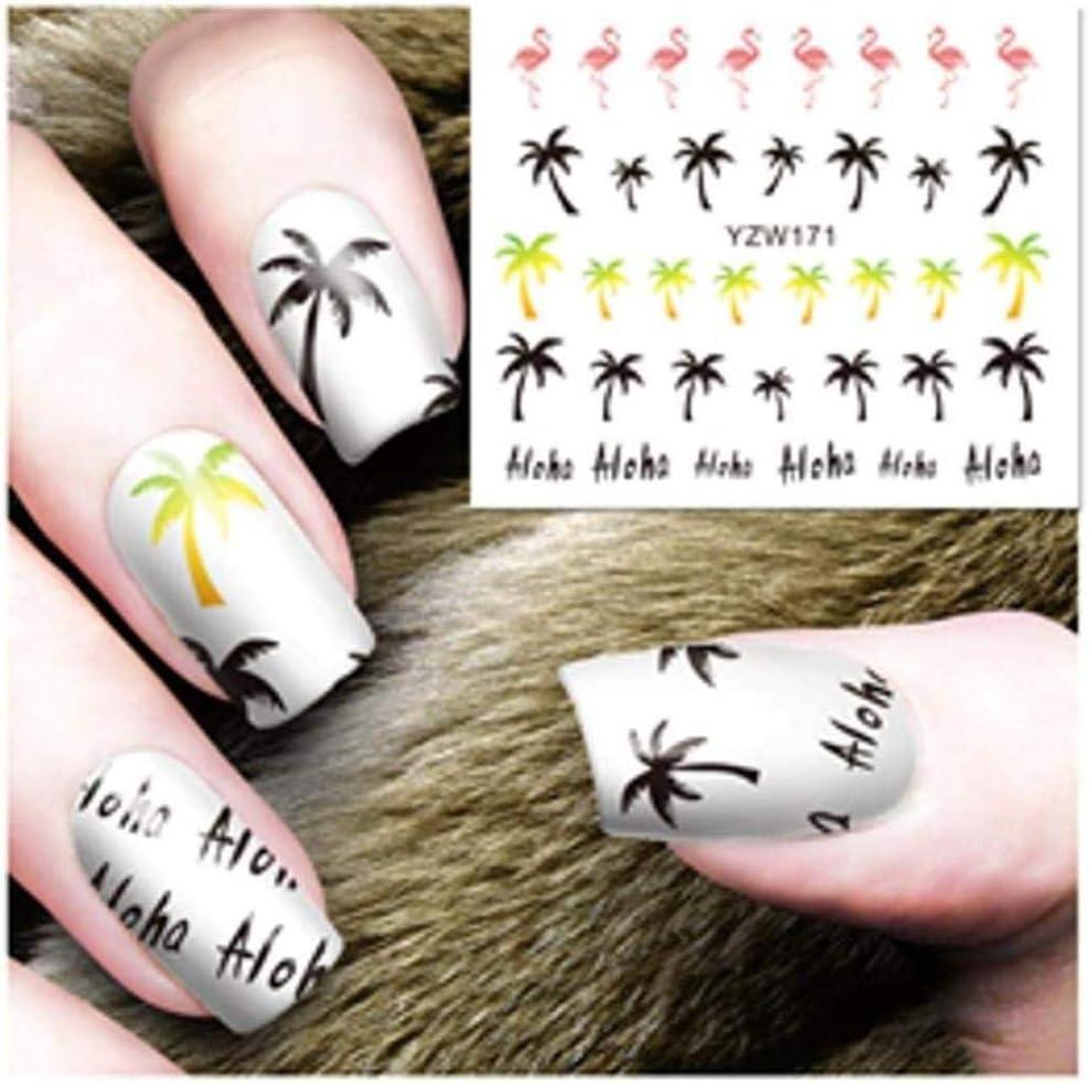 Srtyh Nail Sticker 2 Sheep Optional Cartoon Design Nail Art Sticker Black Lace Design Decoration Sticker Diy Tips Nails Beautiful C B Amazon Co Uk Beauty