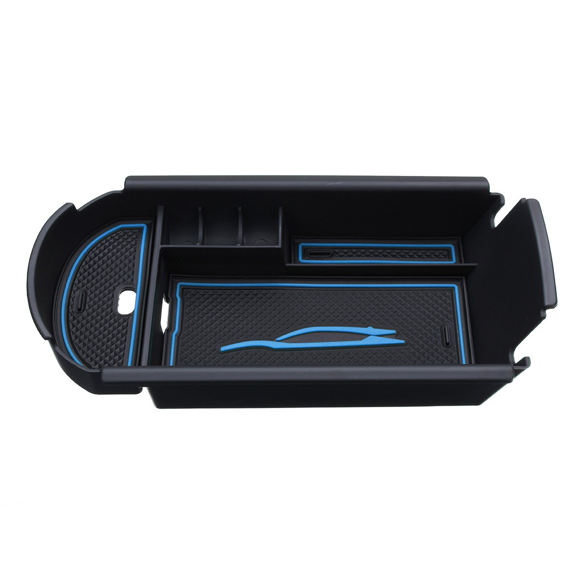 JenNiFer Voiture Accoudoir Box Storage Center Console Organisateur pour Toyota C-HR Chr 2016-2017 Rouge