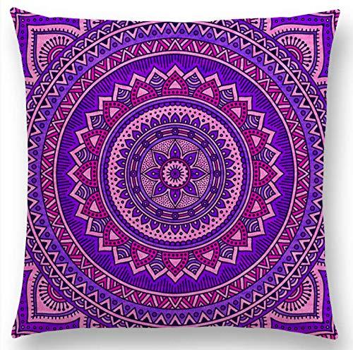 Hippie Mandala Boho Patrón Floral del Arco Iris Sol Luna ...