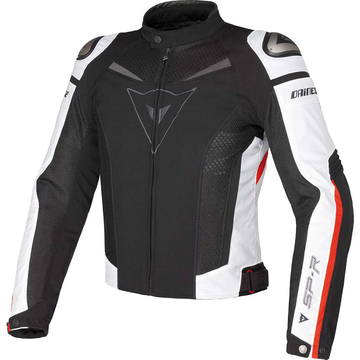 Dainese Super Speed Textile Jacket (54 US / 64 Euro) (Black/White/Red)