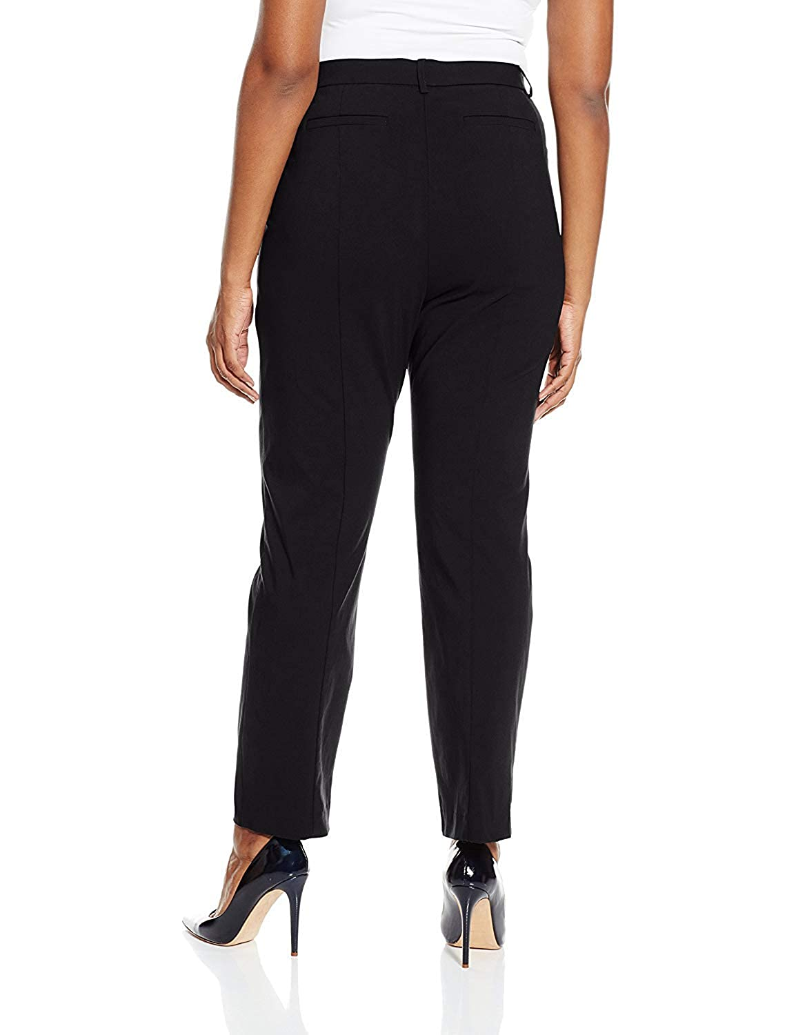 Napa Valley Womens Plus Size Superstretch Straight Leg Pull On Pant Napa Valley Womens 589APV2NV