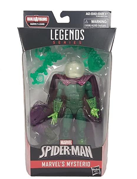 Spider-Man Legends Series 6-inch Marvel's Mysterio (Variant White Head  Version)