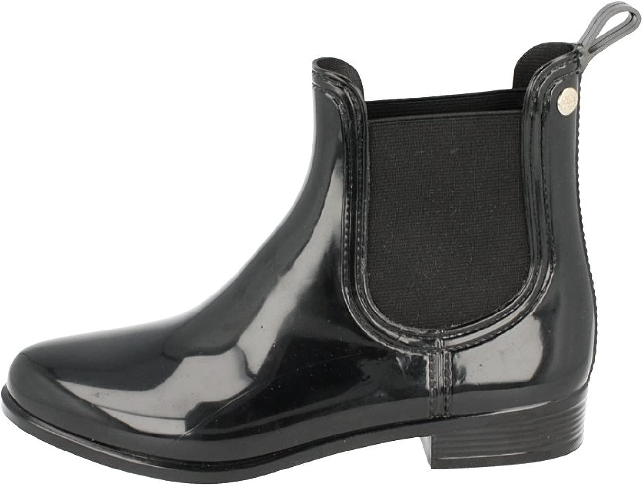Botas De Agua Mujer Gioseppo Londres Negro