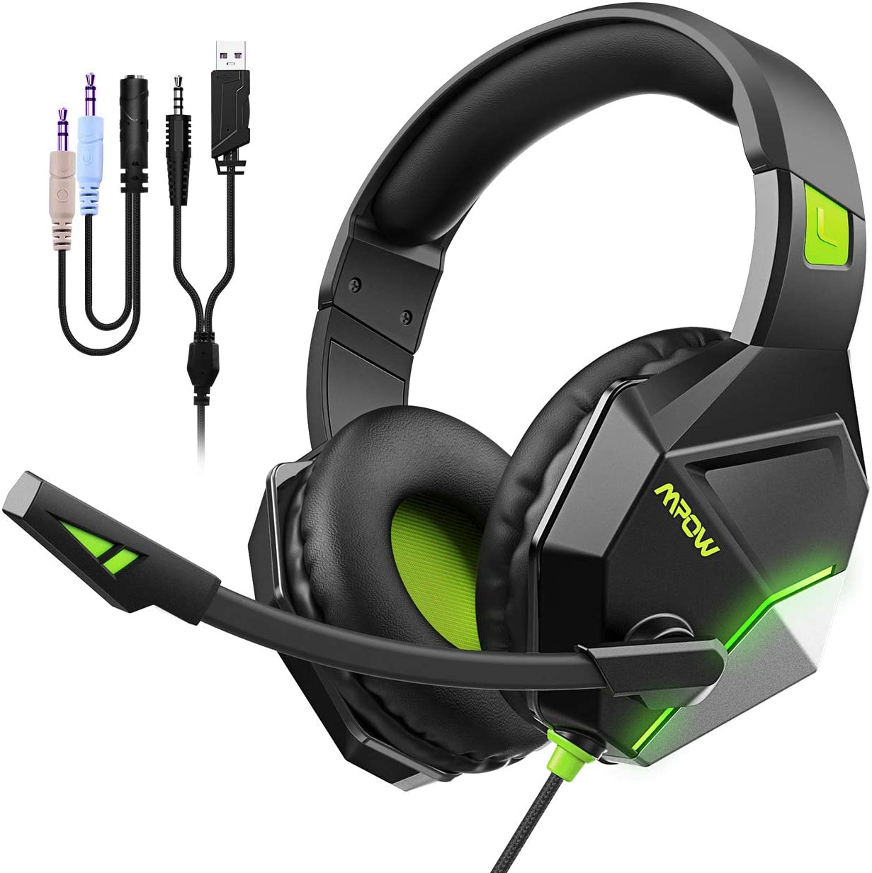 Mpow EG10 Gaming Auriculares para PS4, PC, Xbox One ...