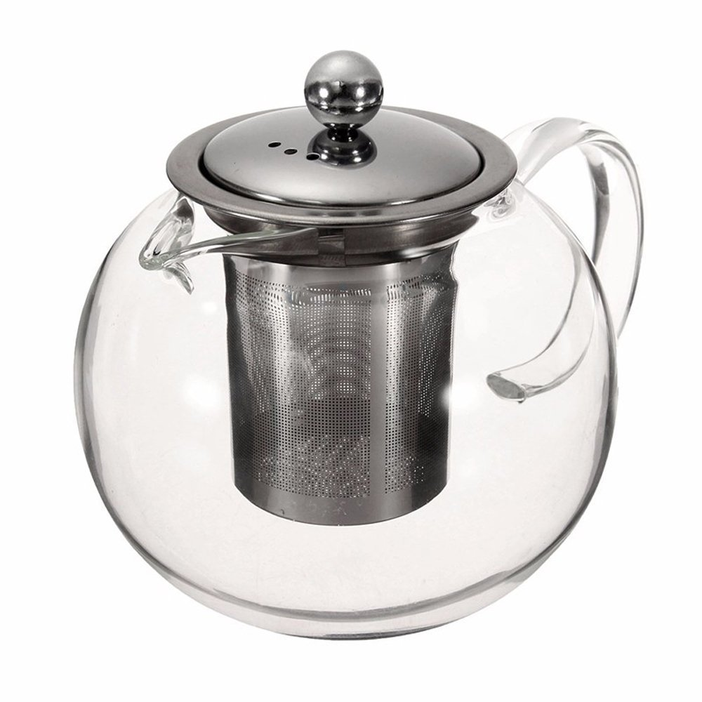 Glass Teapot Set, 45 Ounce / 1300 Milliliter