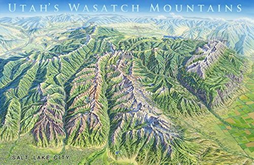 Imagekind Wall Art Print Entitled Wasatch Mountains  Utah By James Niehues   24 X 16