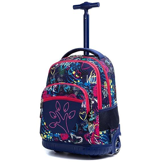 Amazon.com | Kids Rolling Backpacks Trolley Schoolbag 2 Wheeled Waterproof Audult luggage | Kids Backpacks