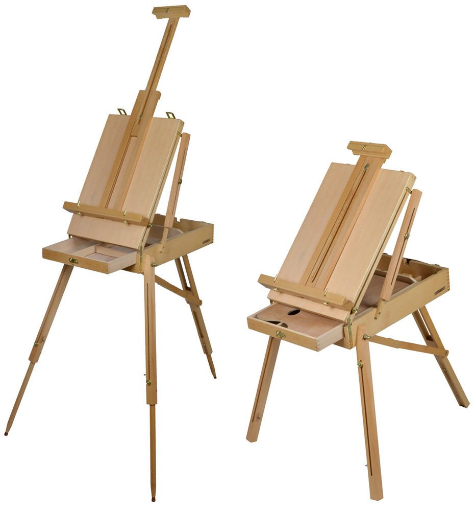 Amazon.com TMS® French Easel Beech Wooden Sketch Box Tripod Folding Art Artist Painter w/Pallet  sc 1 st  Amazon.com & Amazon.com: TMS® French Easel Beech Wooden Sketch Box Tripod ... Aboutintivar.Com