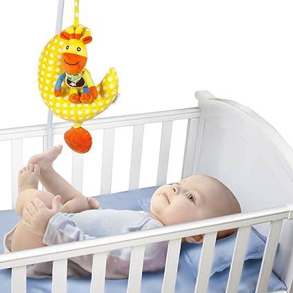 Moon musical tirón de cuerda de juguete Lathe colgar bebé niños ...