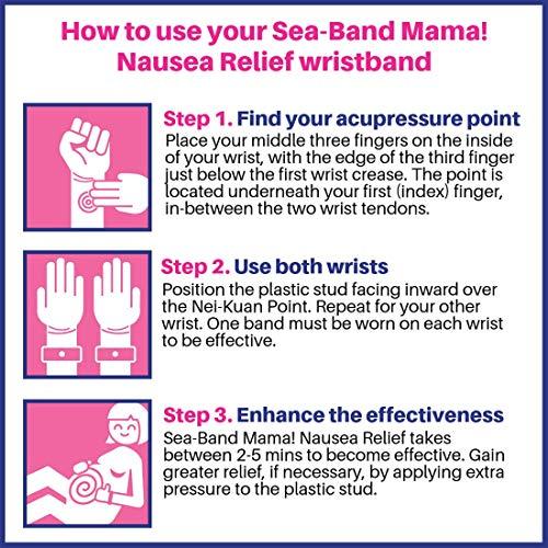 Sea-Band Mama - Original Acupressure Morning Sickness ...