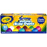 Crayola Safe for Kids Washable Paint Set - 10ct Classic Colors