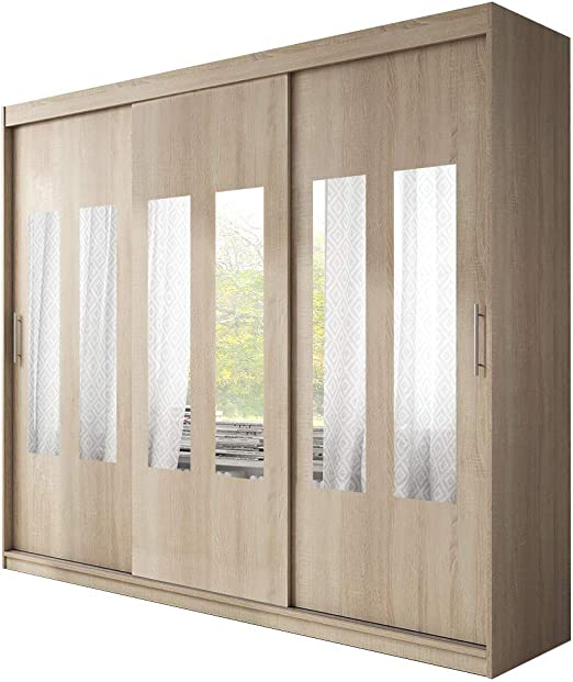 Ye Perfect Choice Armario Grande y Moderno con Puertas correderas ...