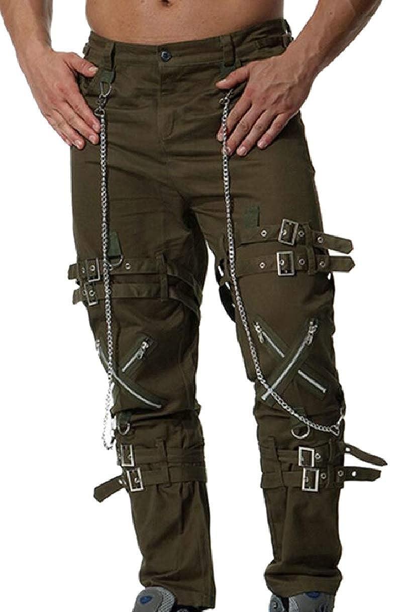 YIhujiuben Mens Military Operator Tactical Classic Fit Casual Cargo Pants