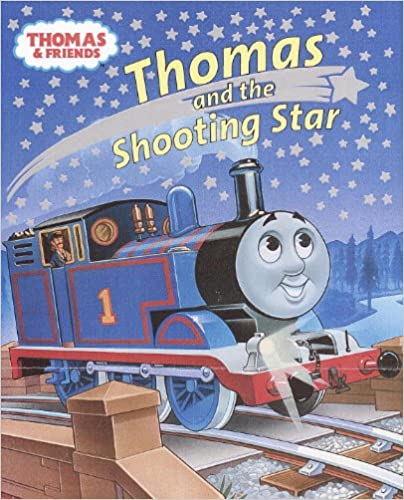 Download Google e-books Thomas and the Shooting Star (Thomas and Friends) (Glitter Picturebook) (Danish Edition) PDF FB2