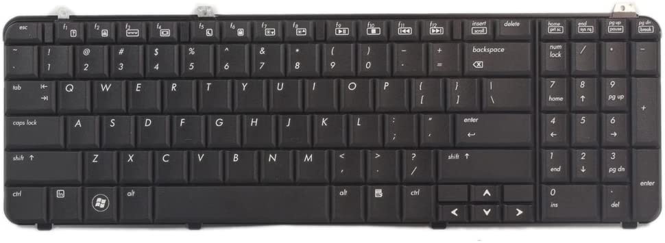 Keyboard for HP Pavilion DV6 530580-001 518965-001 Series Layout US