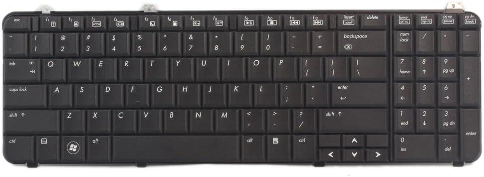 New Replacment US keyboard For HP Pavilion DV6-1000 DV6-2000 Matte 518965-001