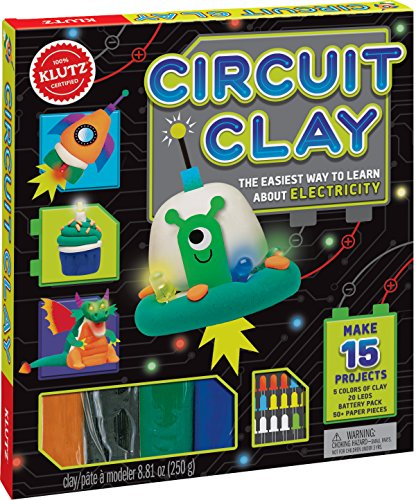 KLUTZ Circuit Clay Science Kit (Kids Clay Sculpture)