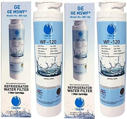 1 Pack PSHW6YGXBDSS Replacement Refrigerator Water and Ice Filter