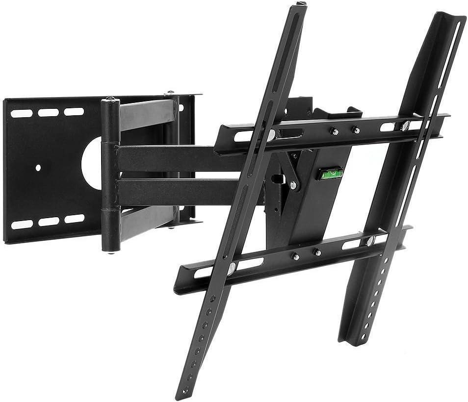 Henxlco Full Motion Articulating Tilt Swivel TV Wall Mount Bracket Flat Screen