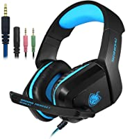 Gaming Headset with Mic for PS4, PC, Xbox One, SENHAI Surround Sound Noise Cancelling Over Ear Headphones Compatible for…