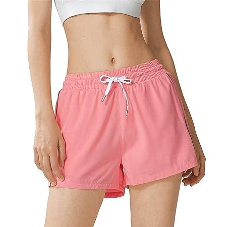 Mujer Mallas Shorts de Yoga, Pantalón corto de playa de ...