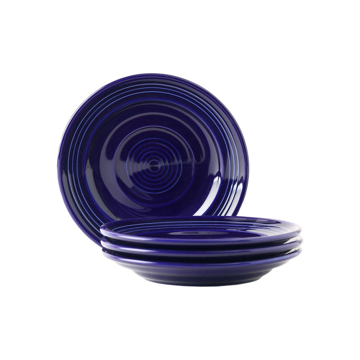Tuxton Home Concentrix Side Plate (Set of 4), 6 1/4