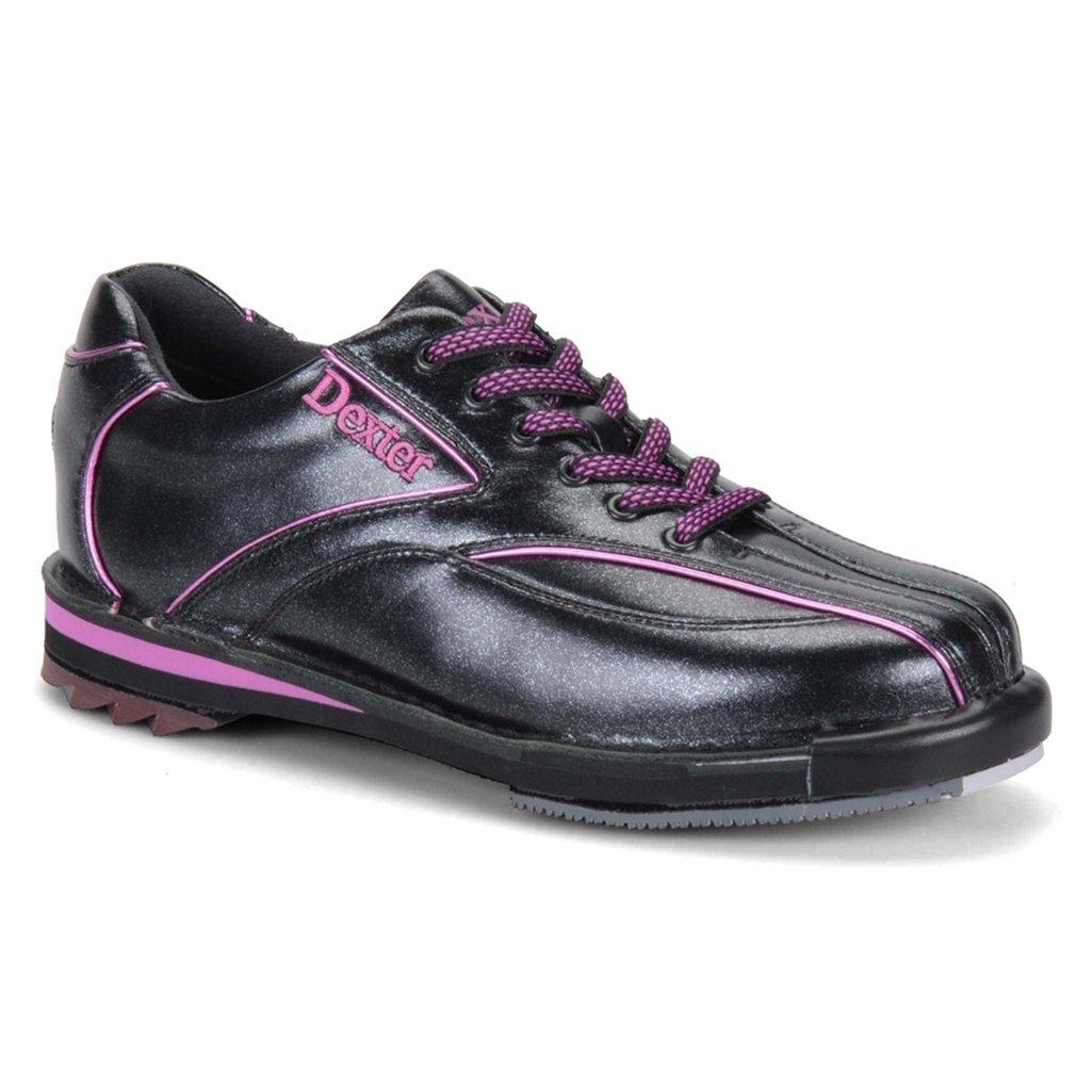 Dexter Womens SST 8 SE Bowling Shoes (8 1/2 M US, Black/Purple) by Dexter Bowling Shoes
