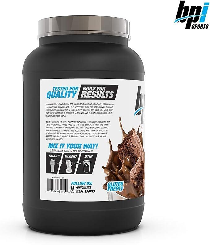 Bpi Sports FID56453 Iso-HD (1.6 lbs) 730 g