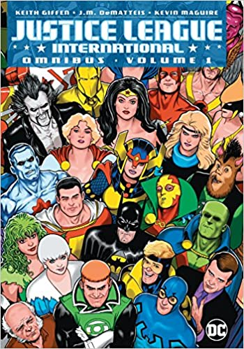 Amazon com: Justice League International Omnibus Vol  1