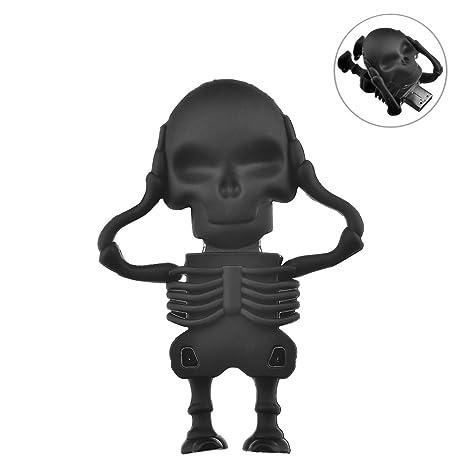 Esqueleto/Ninja Funny USB Forma 2.0 Flash Drive Memoria de ...