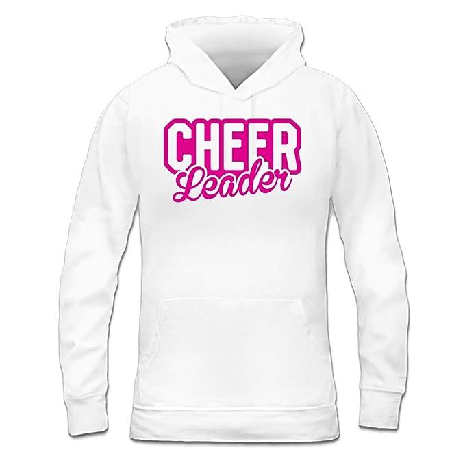 Sudadera con capucha de mujer Cheerleader Logo by Shirtcity: Amazon.es: Ropa y accesorios